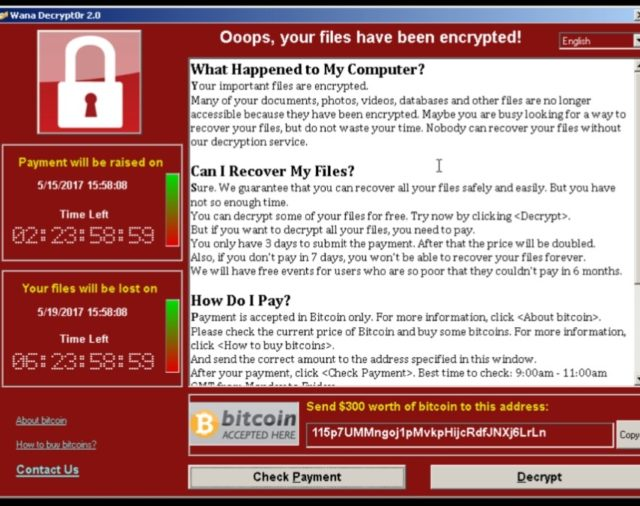 Identifica si tu organización es vulnerable a Wannacry (ms17-010)