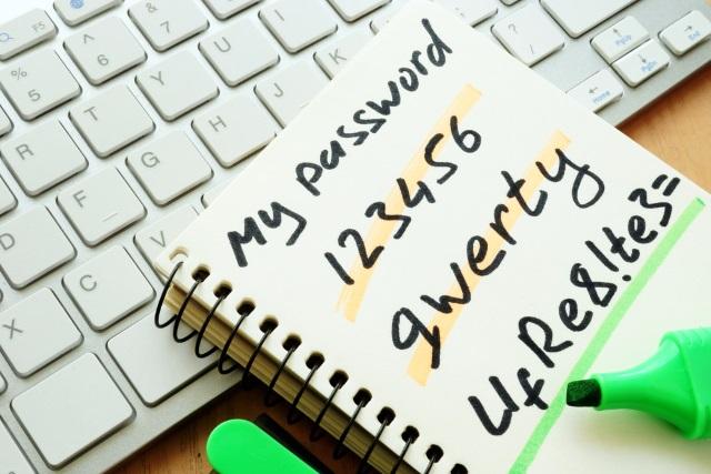 Las contraseñas más inseguras utilizadas en Internet
